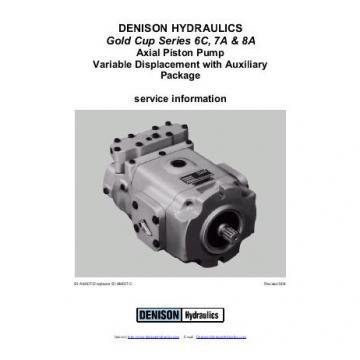 Dension Switzerland gold cup piston pump P30L-7R5E-9A6-B0X-F0