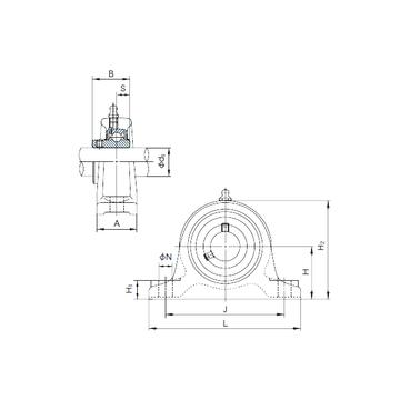 NACHI UCIP210 Bearing  Units