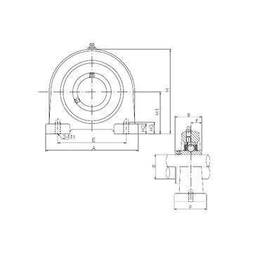CX UCPA209 Bearing  Units