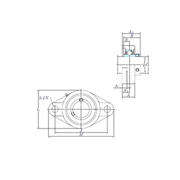 KOYO UCFL205-15 Bearing  Units