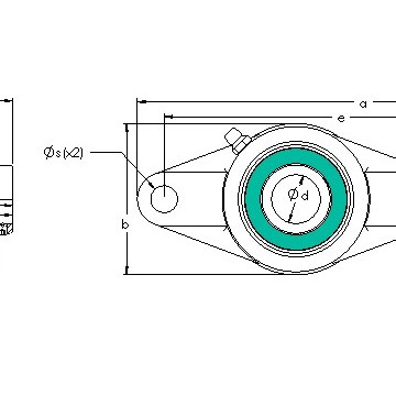 AST UCFL 205-16G5PL Bearing  Units