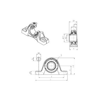 SNR UCPLE207 Bearing  Units
