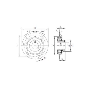 INA GRA40 Bearing  Units
