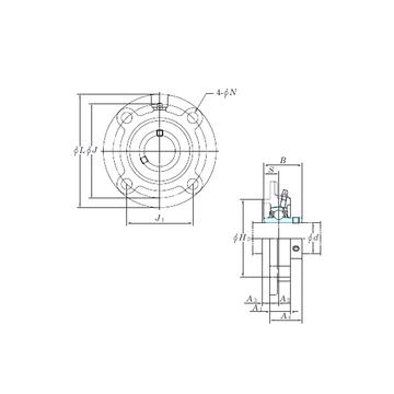 KOYO UCFCX05-16E Bearing  Units