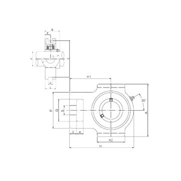 CX UCTX16 Bearing  Units