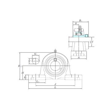 KOYO NAP206-19 Bearing  Units