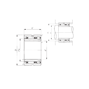 IKO NATA 5906 Complex  Bearings